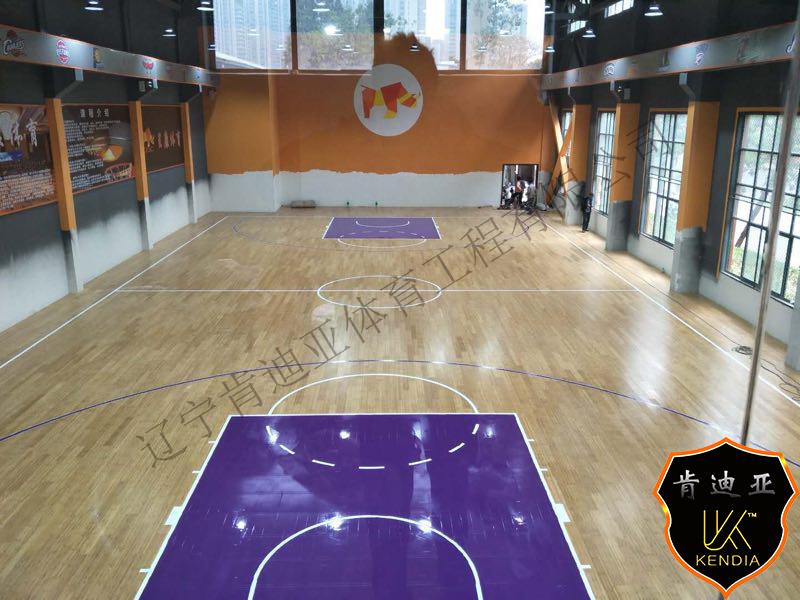 学校用运动木地板