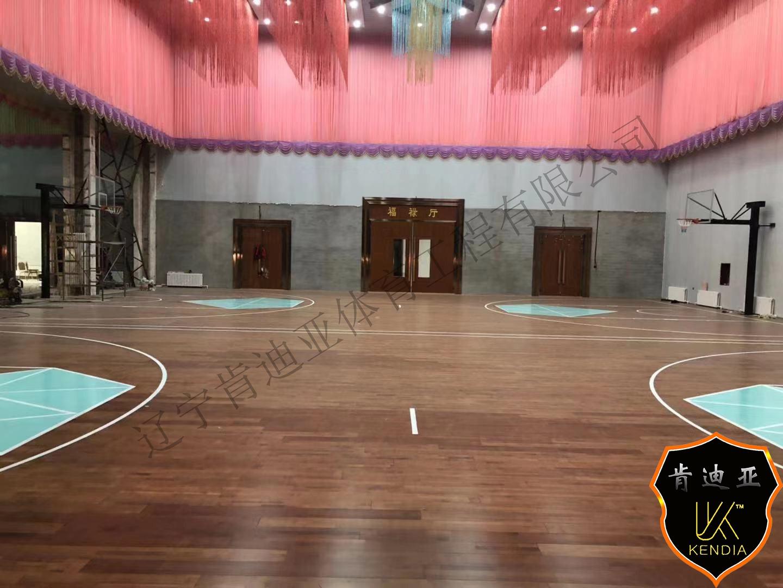 黑龙江省篮球场案例